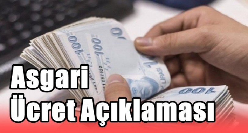 Türk-iş'ten Asgari Ücret Açıklaması