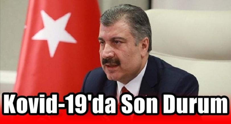 Türkiye'de Kovid-19'da Son Durum