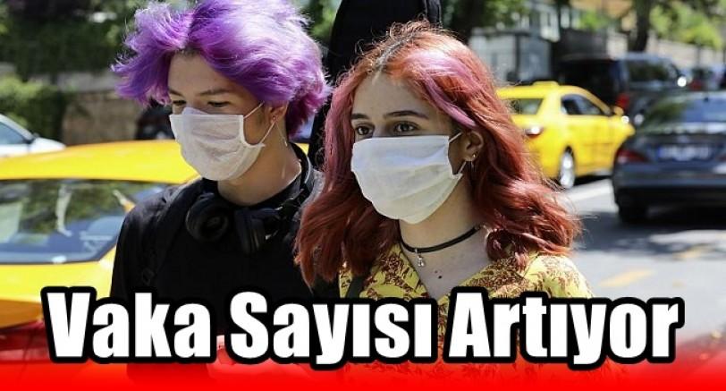 Türkiye'de Vaka ve Ağır Hasta Sayısı Artıyor