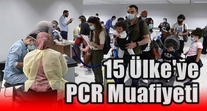 Türkiye'den 15 Ülke İçin PCR Muafiyeti