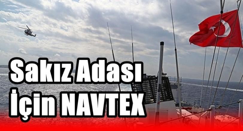 Türkiye'den Sakız Adası İçin NAVTEX İlanı