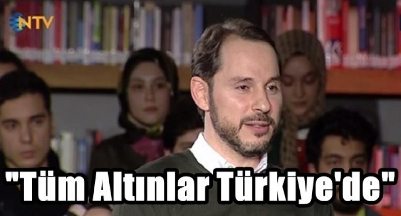 Türkiye'nin Yurt Dışında Altını Yok
