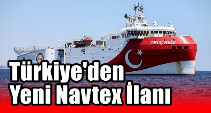 Türkiye Yeni Navtex İlan Etti