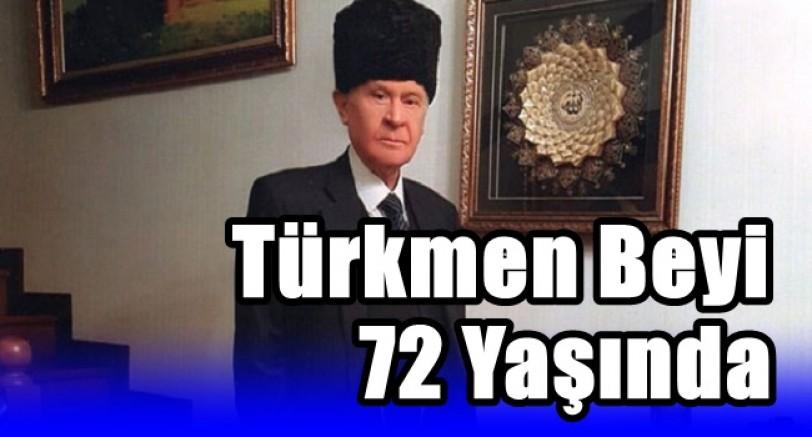 Türkmen Beyi 72 Yaşında