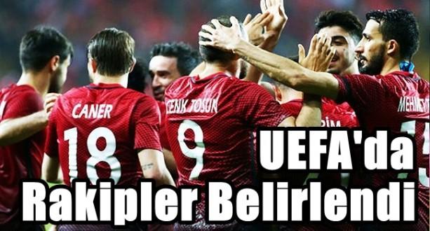 UEFA'da Rakipler Belirlendi