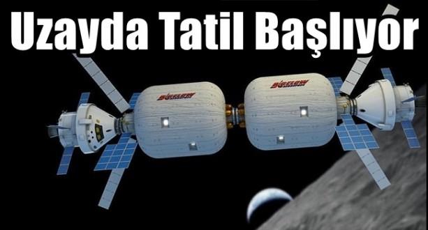 Uzayda Tatil Gerçek Oluyor