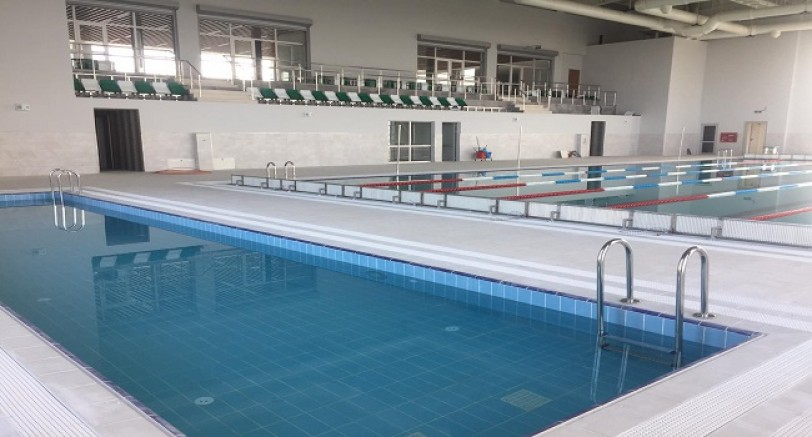 Yarı Olimpik Yüzme Havuzunda Sona Gelindi