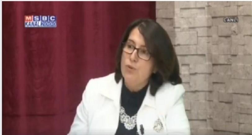 Yazarımız Gönül Altun Mersin Kanal 2000 Tv'de