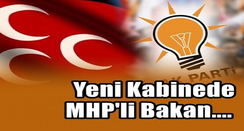 Yeni Kabinede MHP'li Bakan Olacak mı ?