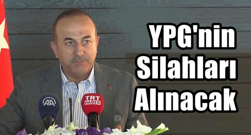 YPGnin Silahları Alınacak
