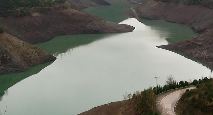 Yuvacık Barajında Su Seviyesi Yükselmeye Başladı